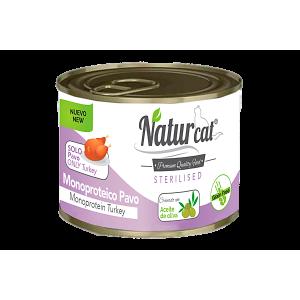 Naturcat Monoproteico Pavo Sterilised