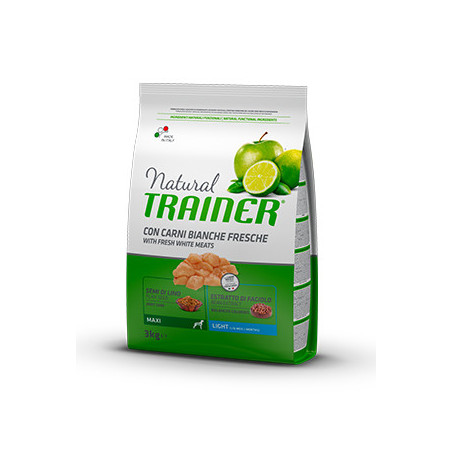 Natural Trainer Maxi Light Carne Blanca
