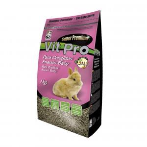 Vit Pro Alimento para Conejos Enanos Baby