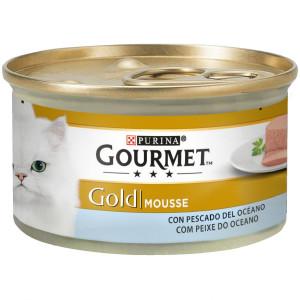 Gourmet Gold Mousse de Pescado de Océano