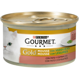 Gourmet Gold Mousse de Pato y Espinaca