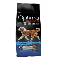 Optima Nova Puppy Large Pollo y Arroz