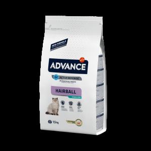 Advance Adulto Sterilized Hairball Pavo Cat
