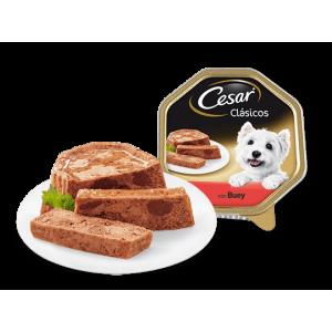 Tarrina César Clásicos Paté de Buey