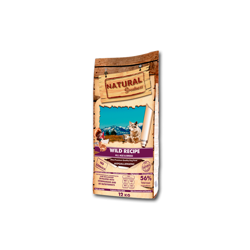 Natural Greatness Receta salvaje (Wild Recipe)