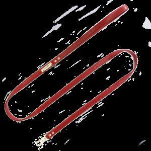 Correa lisa Roja