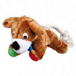 Perrito Peluche con cuerda Trixie