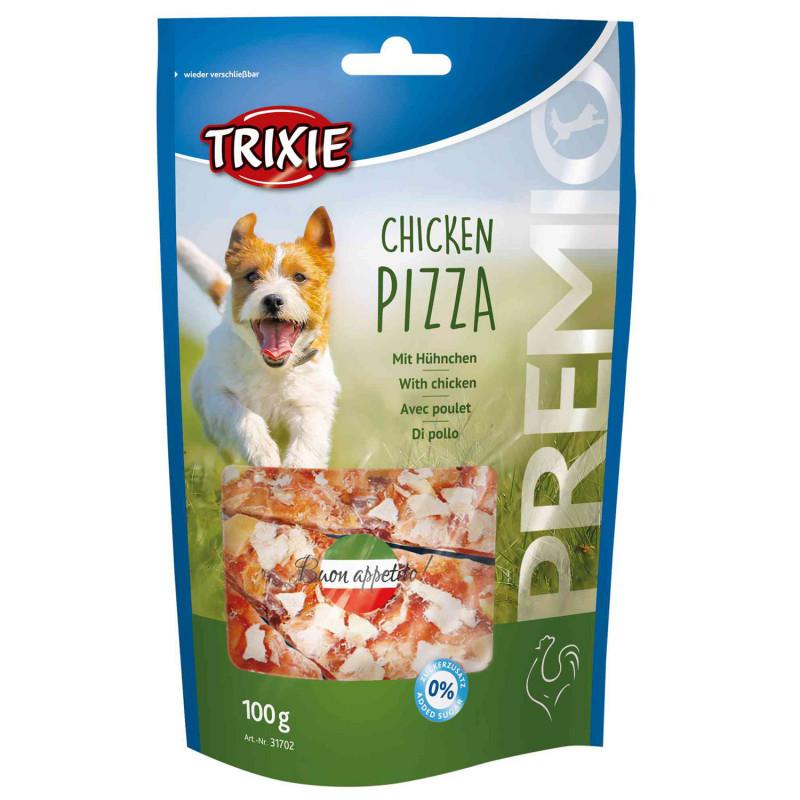 Trixie Snack Pizza Pollo