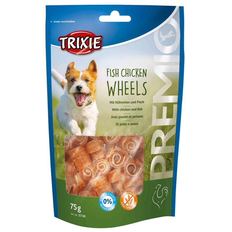 Trixie Fish Chicken Wheels