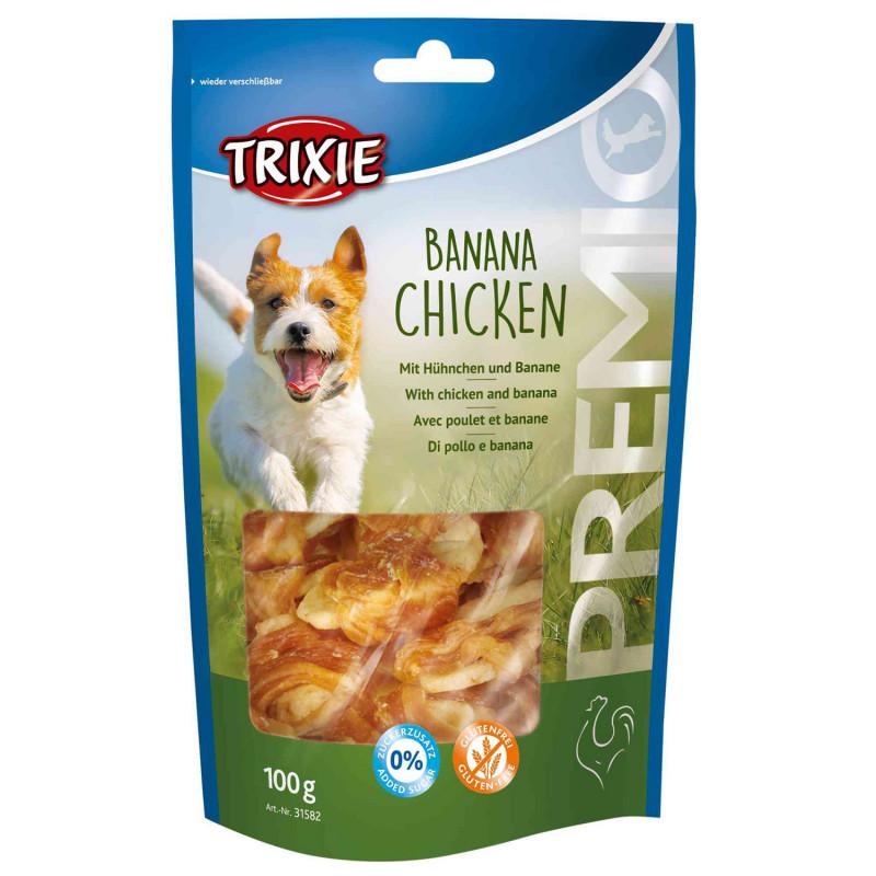 Trixie Snack Platano y Pollo