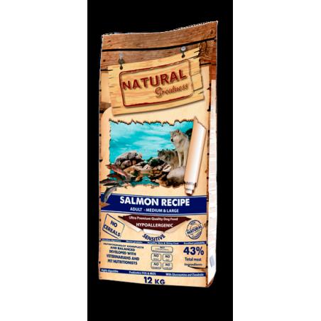 Natural Greatness Receta Salmon Sensitive Medium-Large