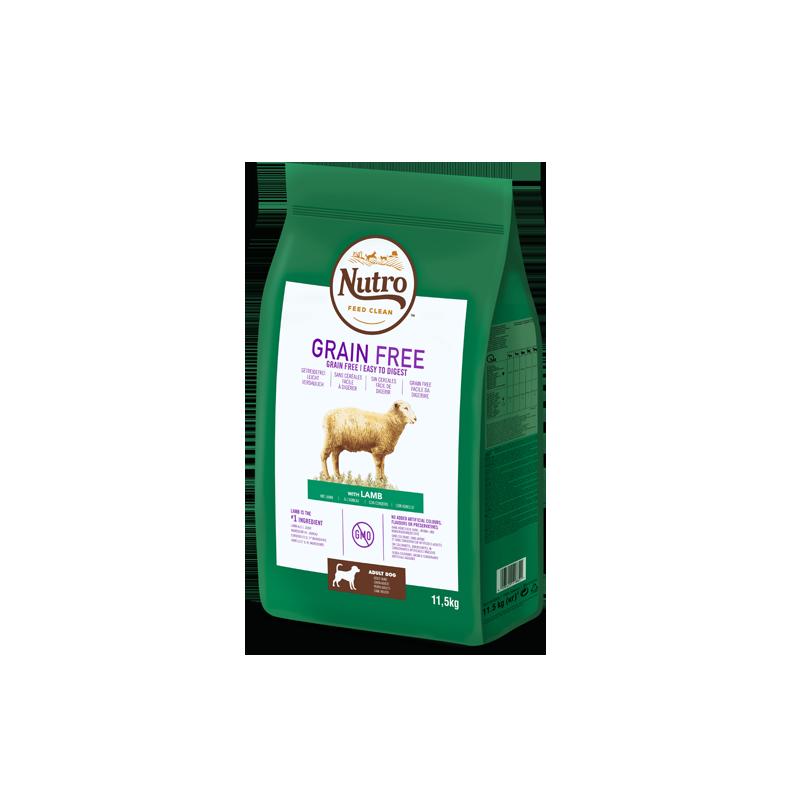 Nutro Grain Free Adulto Cordero