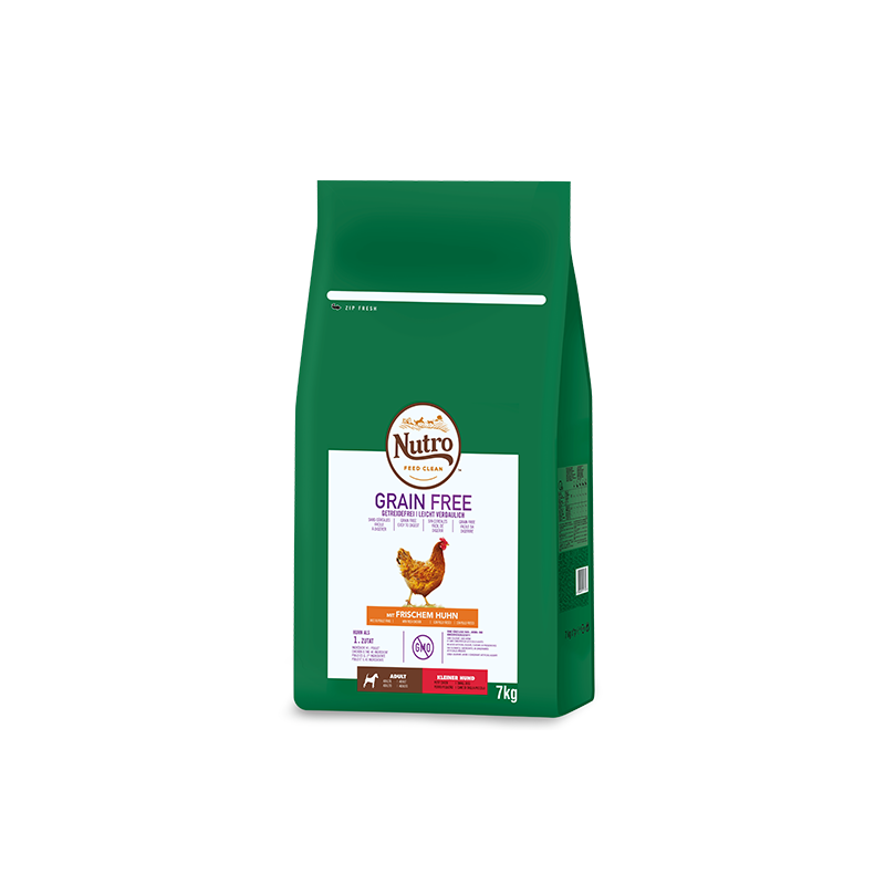 Nutro Grain Free Adulto Pollo Mini