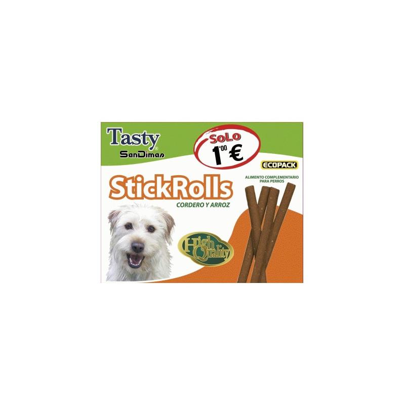 Tasty StickRolls Cordero y Arroz 55 Grs.