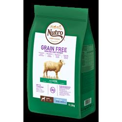 Nutro Grain Free Adulto Cordero Raza Grande