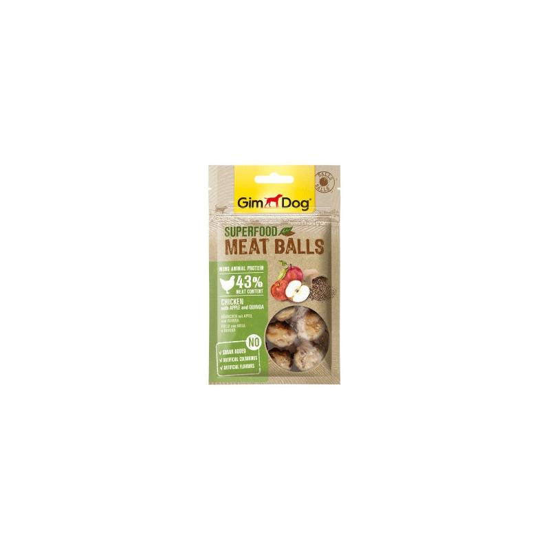 GimDog Albóndigas de Manzana y Quinoa