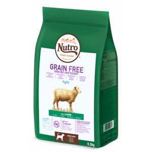 Nutro Grain Free Adulto Cordero Light