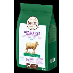 Nutro Grain Free Adulto Cordero Light