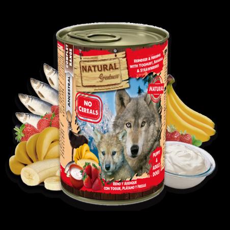Lata Natural Greatness de Reno y Arenque con Yogur
