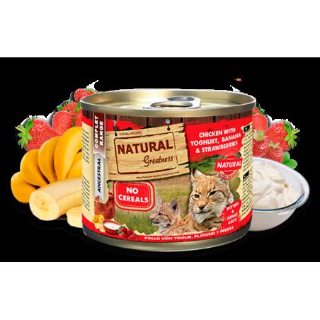 Lata Natural Greatness Pollo con Yogur