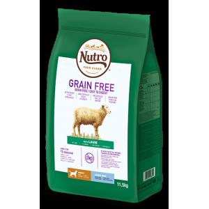Nutro Grain Free Junior Cordero Raza Grande