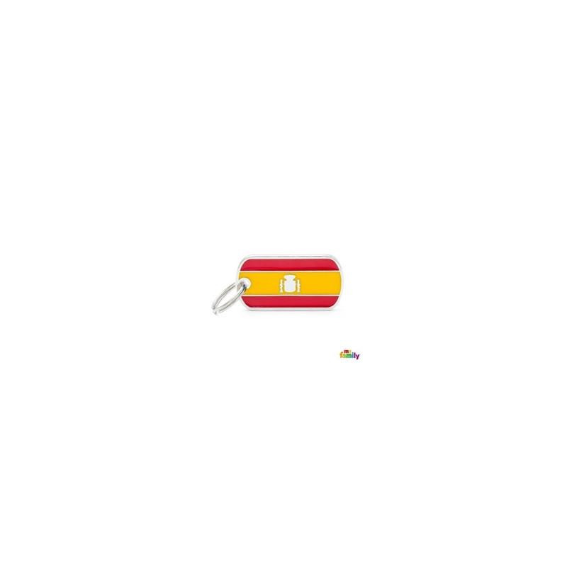 Placa bandera de España
