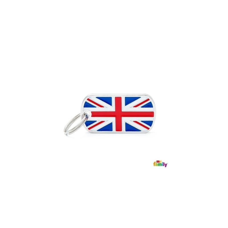 Placa Bandera U.K