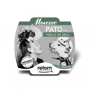 Retorn Tarrina Mousse de Pato con Perlas de Krill