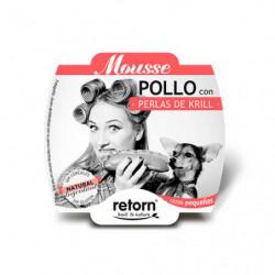 Retorn Tarrina Mousse de Pollo con Perlas de Krill