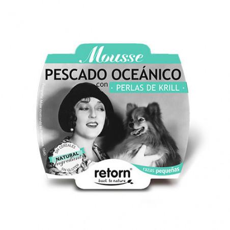 Retorn Tarrina Mousse de Pescado de Océano con Perlas de Krill