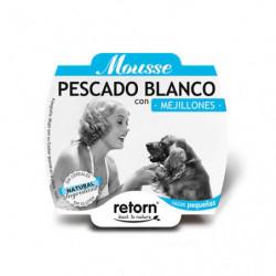 Retorn Tarrina Mousse de Pescado Blanco y Mejillones