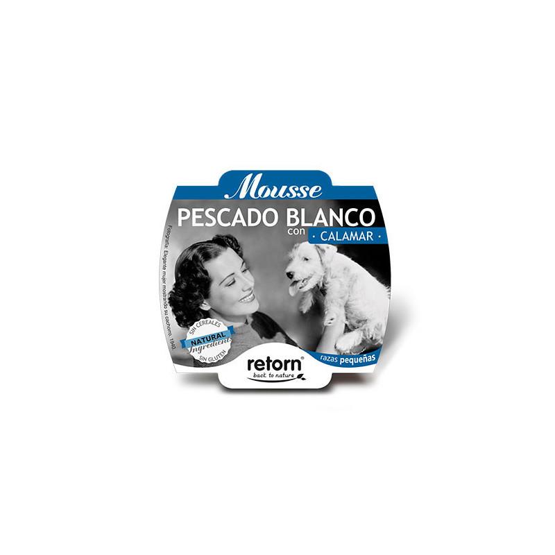 Retorn Tarrina Mousse de Pescado Blanco y Calamar