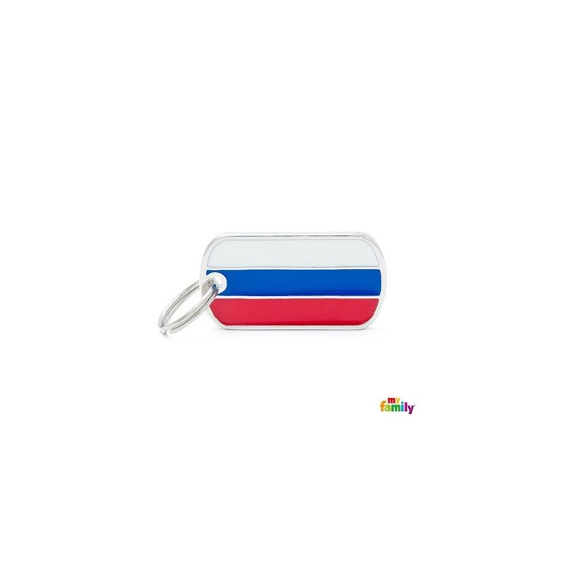 Placa Bandera Rusia