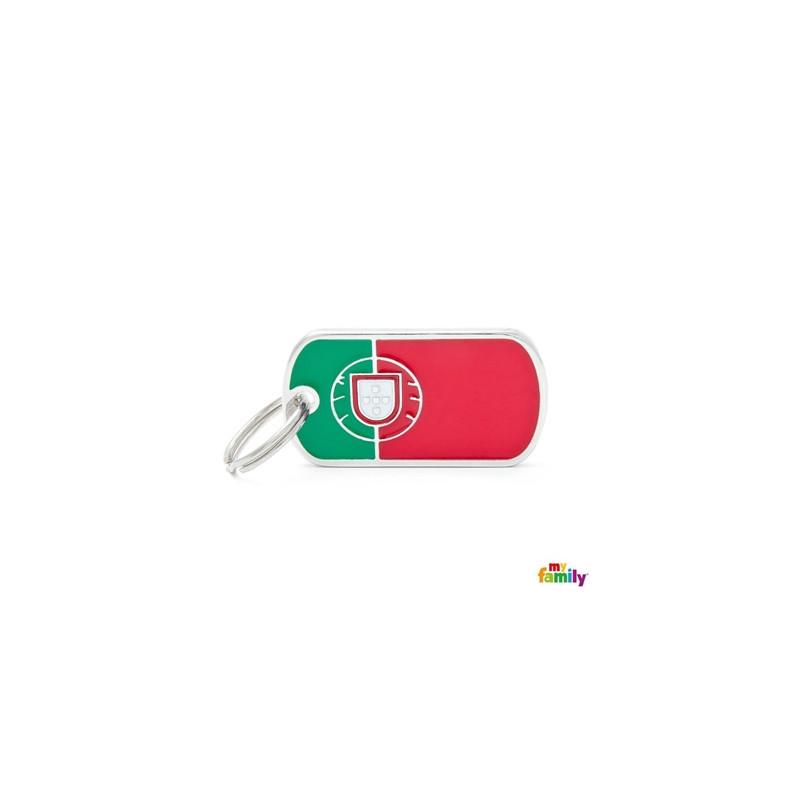 Placa Bandera Portugal