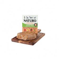 Tarrina Naturo Grain Free Salmón con Patatas 400Grs