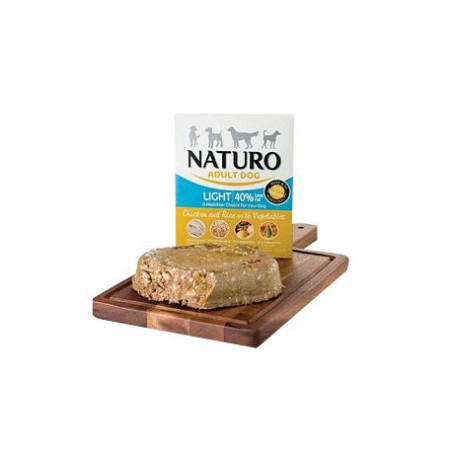 Tarrina Naturo Light Pollo y Arroz 400Grs
