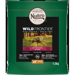 Nutro Wild Frontier Cachorro Pollo Y Pavo