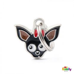 placa Chihuahua Negro