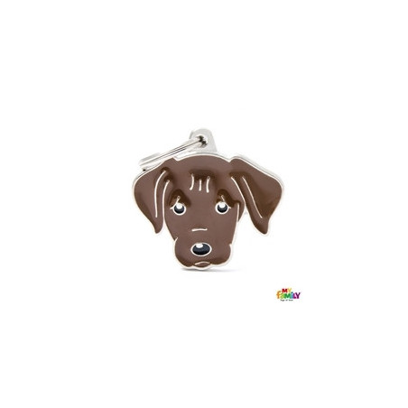 Placa Labrador Retriever Chocolate