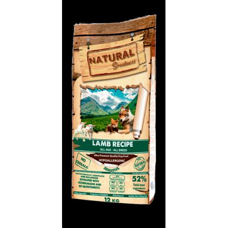 Natural Greatness Receta Sensitive Cordero