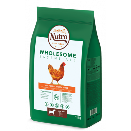 Nutro Wholesome Essentials Pollo Y Arroz Raza Mediana