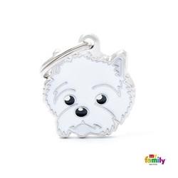 Placa West Highland White Terrier