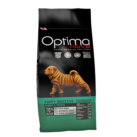 Optima Puppy Digestive Conejo y Patata