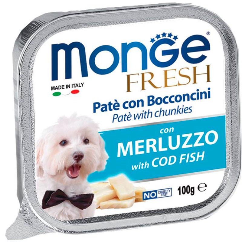 Monge Fresh Paté Trozos de Merluza