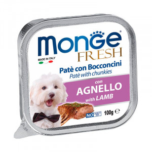 Monge Fresh Paté Trozos de Cordero