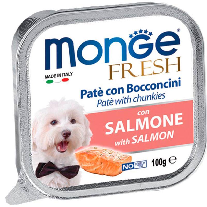 Monge Fresh Paté Trozos de Salmón