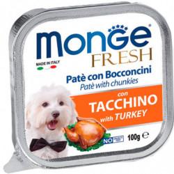 Monge Fresh Paté Trozos de Pavo