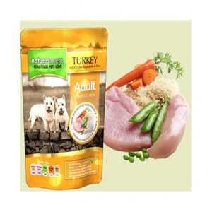 Natures Menu Pouch Pavo con Pollo
