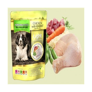 Natures Menu Pouch Pollo y Conejo Light