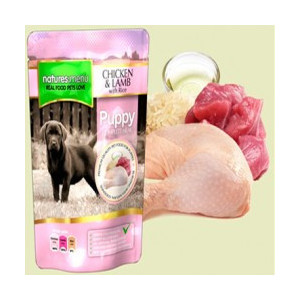 Natures Menu Pouch Pollo y Cordero Junior